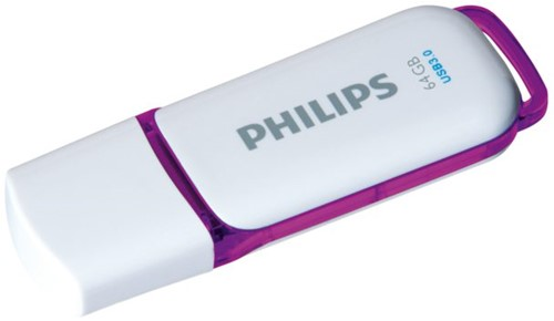 USB-stick 3.0 Philips Snow 64GB paars-2