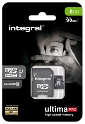 Geheugenkaart Integral Micro SDHC class10 8GB