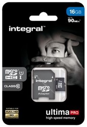 Geheugenkaart Integral Micro SDHC class10 16GB