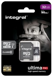 Geheugenkaart Integral Micro SDHC class10 32GB