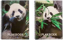 Plakboek Papyrus panda 23x33cm 20vel