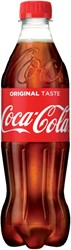 Frisdrank Coca Cola Regular petfles 0.50l