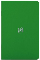 Notitieboek Oxford Pocket 90X140mm groen lijn