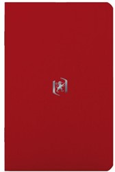 Notitieboek Oxford Pocket 90X140mm rood lijn