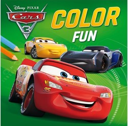 Kleurboek Disney color fun Cars 3