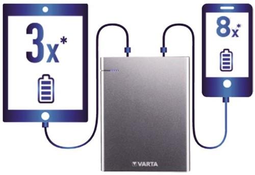 Powerpack Varta 18000mAh aluminium-1