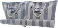 Strandtas polyester 138x16x39cm ass