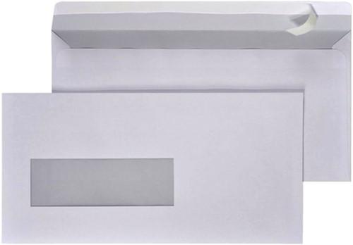 Envelop Hermes EA5/6 110x220mm venster 4x11links zelfkl 500-2