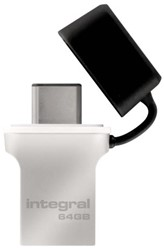 USB-Stick 3.0 Integral + type C 64GB
