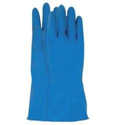 Handschoen huishoud Nova latex XL extra large small blauw