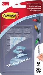 Bevestigingsstrip Command 3M 17026CLCF 20 deco clips