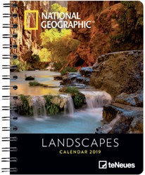Agenda 2019 teNeues National Geographic Landscapes 16.5x21.6cm