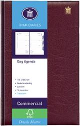 Agenda 2019 Ryam Commercial 1dag/1pagina bordeaux