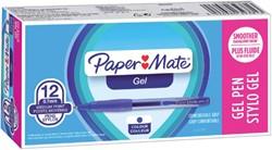Gelschrijver Paper Mate Flexgrip blauw 0.4mm