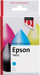 Inkcartridge Quantore Epson T061240 blauw