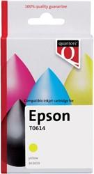 Inkcartridge Quantore Epson T061440 geel