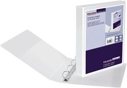 Presentatie ringband Falken A4 4-rings D-mech 40mm PP wit