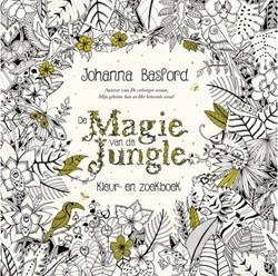 Kleurboek volwassenen de Magie van de Jungle