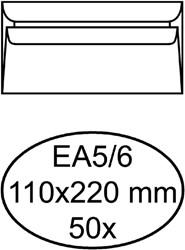 Envelop Quantore excellent bank EA5/6 110x220 100gr wit
