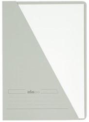 Insteekmap driehoeksmap Jalema Infinio A4 middengrijs