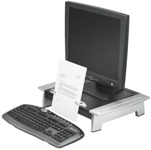 Werkstation Fellowes Office Suite Plus zwart/grijs