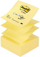 Memoblok 3M Post-it Z-Note R330 76x76mm geel-1