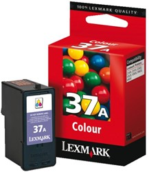 Inkcartridge Lexmark 18C2160E 37A kleur