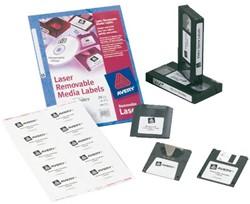 Media etiketten voor printers