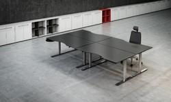 Dencon Delta Zit-sta bureau verstelbaar 65-130 cm