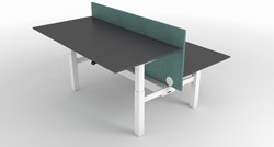 Dencon Delta Duo zit-sta bureau verstelbaar 65-130 cm