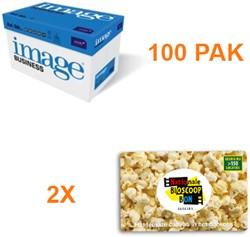 Kopieerpapier Image Business A4 80GR WIT 500 VEL - 100 PAK