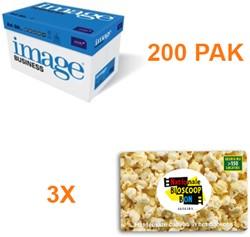 Kopieerpapier Image Business A4 80GR WIT 500 VEL - 200 PAK