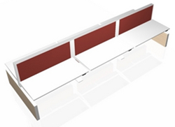 Markant MAX zespersoons bureau zit-sta - Elektrisch verstelbaar 65-128cm