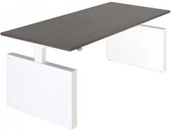 Project bureau recht met zijwangen - elektrisch verstelbaar 62 - 130 cm.