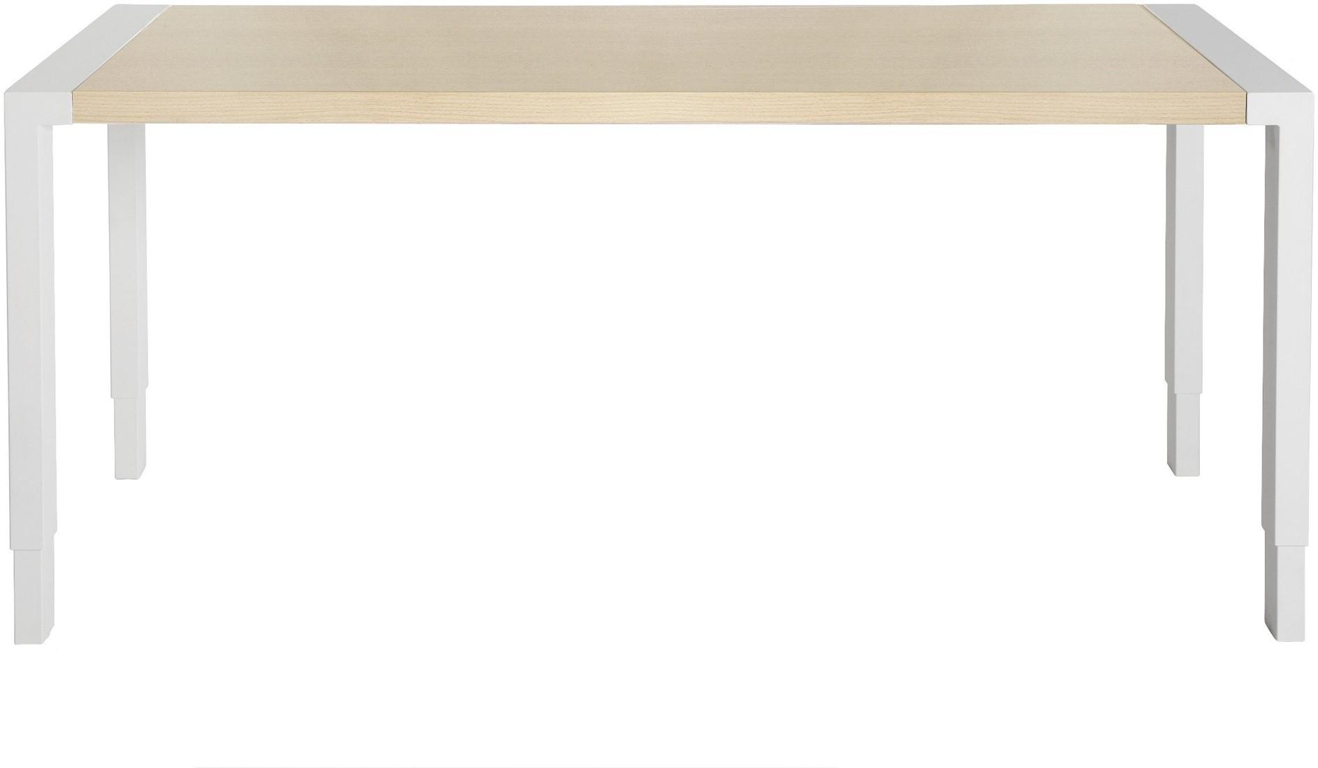 vepa edge bureau bladdiepte 90cm verstelbaar 62 86cm slinger 200 x 90 ww wit bij bruinsma. Black Bedroom Furniture Sets. Home Design Ideas
