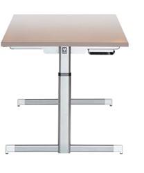 Vepa Step 1 bureau bladdiepte 80cm elektrisch verstelbaar zit/sta (65-130cm).
