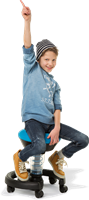 Aeris Swoppster Ergonmische Kinderbureaustoel-2