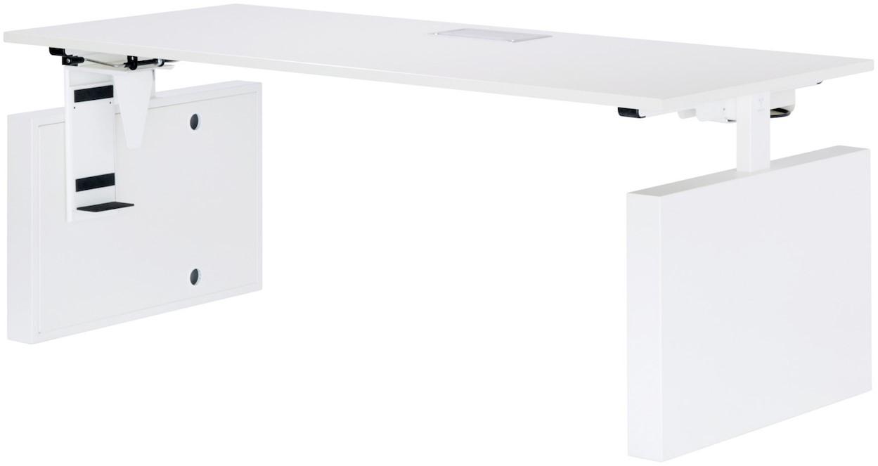 Step Met Licht : Vepa step 4 zit sta bureau bladdiepte 80cm met comfort clicksysteem